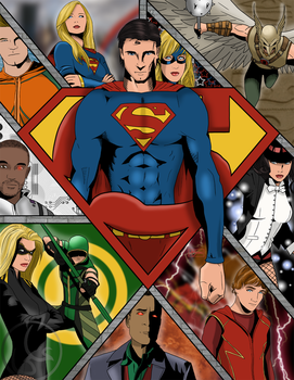 Smallville's Justice League by alijamZz