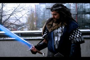 A famous blade, made by the High Elves of the west by AlexOakenshield