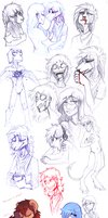 Sketch dump 51 by LiLaiRa