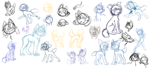 Sketches that will never be finished by Koydog