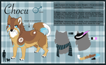 Chocu+Mascot Ref by KittyKatFangs