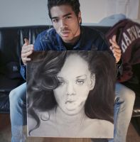 Rihanna - Talk That Talk - portrait by Ruubski