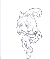 my new perso Aoi -uncolored- by Joellinathedog