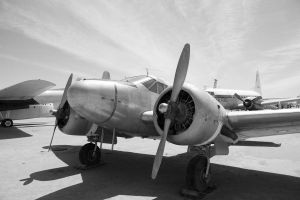Old Prop Plane by chriswhiston
