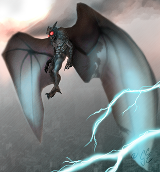 The Mothman by Dismay666
