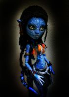 MH Custom Avatar Abbey as Neytiri by mourningwake-press