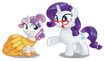 Commission: Sweetie BELLE by AleximusPrime