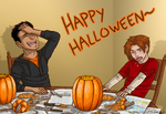 HAPPY HALLOWEEN HERMANOS/AS by Mouseleaf