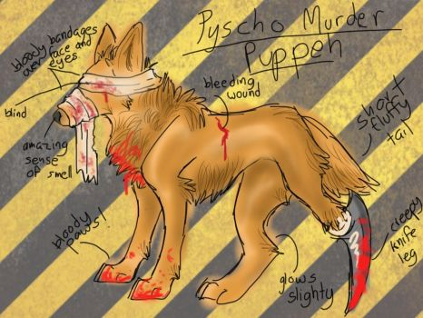 PYSCHO MURDER PUPPEH ~OFFER TO ADOPT~ CLOSED by LOTSOFADOPTS