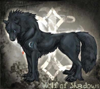 Wolf of Shadows by TheTyro