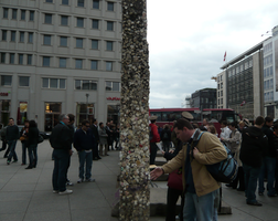 A slice of the Berlin Wall. by UltraTheHedgetoaster