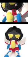 Seeker Plushie: G1 Starscream by Mazzlebee