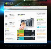 Web Design Astra Hosting by lKaos
