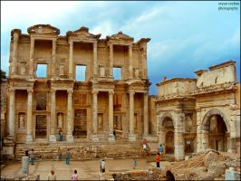 Ephesus Celsus Library by orcunceyhan