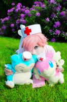 Pokemon Cosplay - Nurse Jo(e)y - 003 by VenTsun