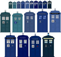 XL and 300XL Tardis Timeline by omega-steam