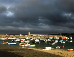 st ives harbour england by jynto