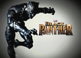 Marvel Legends - BLACK PANTHER 'movie version' 1 by ULTIMATEbudokai3