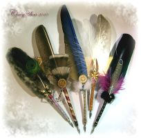 Feather Pens of the Week A by ChaeyAhne