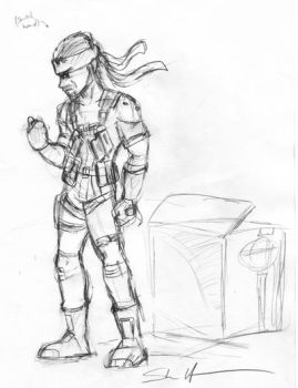Snake Sketch by StacMaster-S