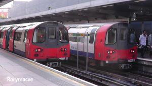 London Underground 1996 Stock at Stratford by The-Transport-Guild