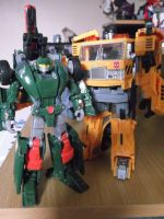 Transformers Hoist and Grapple by forever-at-peace