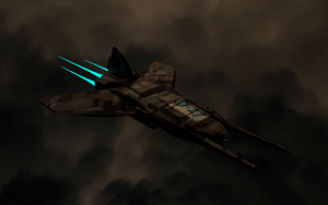 Simple Ship Model by Viscocent
