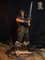 Conan the barbarian Leather Armor version MKII by CalvinsCustom