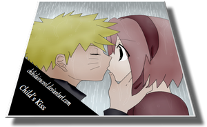 Child kiss Narusaku by ChibiDairacool