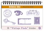 Brushset 22: Vintage Finds by Ruthenia-Alba