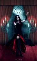 Gothic girl by Chibi--Alucard