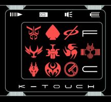 Kamen Rider Decade's K-touch by toailuong