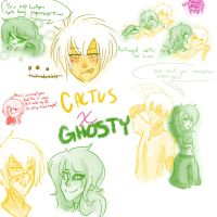 Cactus X Ghosty : The Unsailed Ship by NeonRataurus