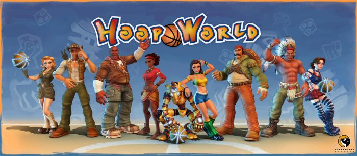 HoopWorld Groupshot by HecM