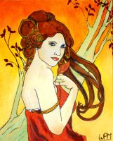 Autumn Lady by WendyMitchell