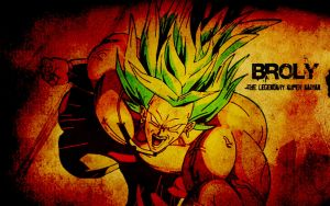 Broly by Photshopmaniac