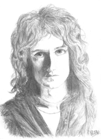 Brian May by MelielBLACK