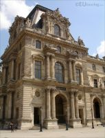Pavillon Mollien on the Louvre by EUtouring