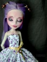 Fully customized Monster High - Rochelle Goyle by Katalin89