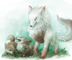 Big wolf Love by CPoring