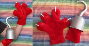 FNAF Foxy Hands by LobitaWorks