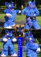 Princess Luna finished suit by ShaggyGriffon