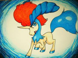 Keldeo by Raipeee