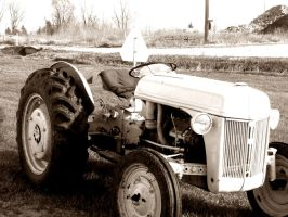Little Tractor by thebarnestwins