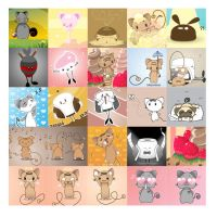 Kawaii BeKyoot LJ Icons by lafhaha