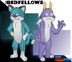 The Bedfellows Sheen And Fatigue Wallpaper by Miltonator