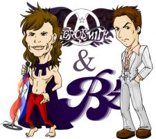 Aerosmith and B'z vocals by samuka