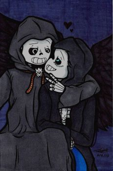 Reaper and Chiller by Smithuoso