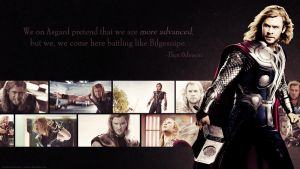 Avengers Wallpaper Set - Thor by Sidhrat