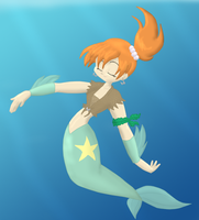 Tomboyish Mermaid by Da-Wabbit